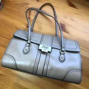 Etienne Aigner 100% genuine leather shoulder bag